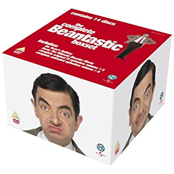 Mr Bean Complete Box Set 14 Discs Uk Import Amazonde Mr