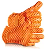 Oven Gloves •Super Silicone Heat Resistant Grilling Set +2 Free Bear Claws • SALE - LIMITED TIME OFFER • SALE - NOW ON