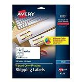 Avery Matte White Color Inkjet Printing Labels (8253)