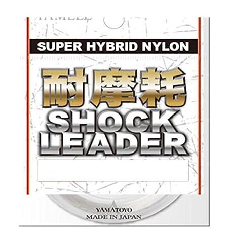 ヤマトヨテグス(YAMATOYO)リーダー耐摩耗ショックリーダーナイロン30m3号12lbクリアの画像