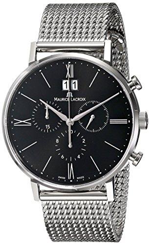 maurice-lacroix-mens-el1088-ss002-310-eliros-analog-display-analog-quartz-silver-watch