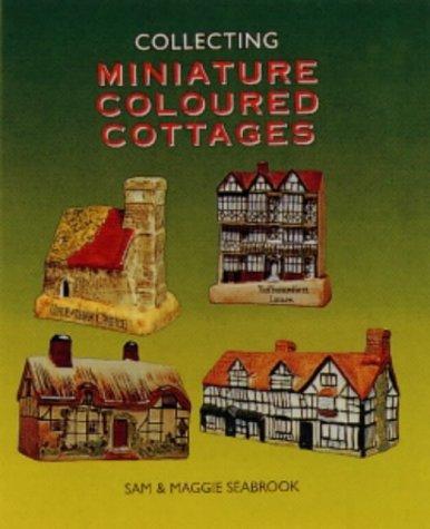 Miniature Coloured Cottages -