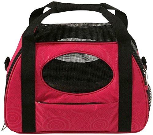 Gen7Pets Carry-Me Fashion Pet Carrier, Large, Raspberry Sorb