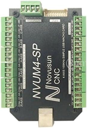 H HILABEE Scheda di Controllo della Macchina per Incisione USB Mach3 CNC 4 Assi Motion Controller