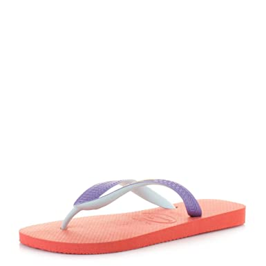 60a618b6c2e241 Unisex Havaianas Top Mix Salmon Flip flops SIZE 5 BRA 37 38  Amazon.co.uk   Shoes   Bags