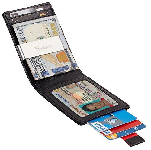 Travelambo Top Grain Leather Slim Wallet