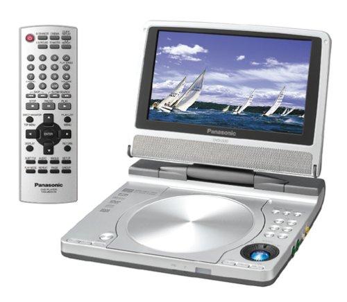 - Panasonic DVD-LS50 7-Inch Portable DVD Player