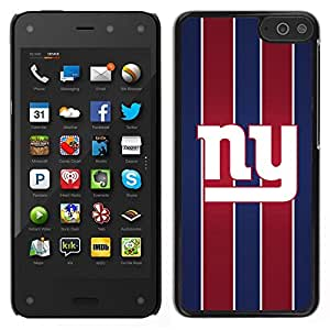// PHONE CASE GIFT // Duro Estuche protector PC Cáscara Plástico Carcasa Funda Hard Protective Case for Amazon Fire Phone / Nueva York /