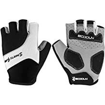 Cool Half-Finger Specialized Knit Gloves Durable For Road Bike Race BMX Enduro Cycling Motorbike Adventure Weightlifting Street Bike Photography Equestrian Powerlifting Mtb Outdoor