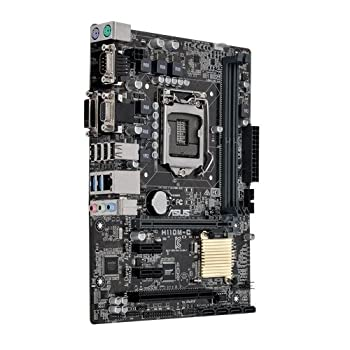 Asus Micro Atx Ddr4 Lga 1151 Motherboard H110m-ccsm 1
