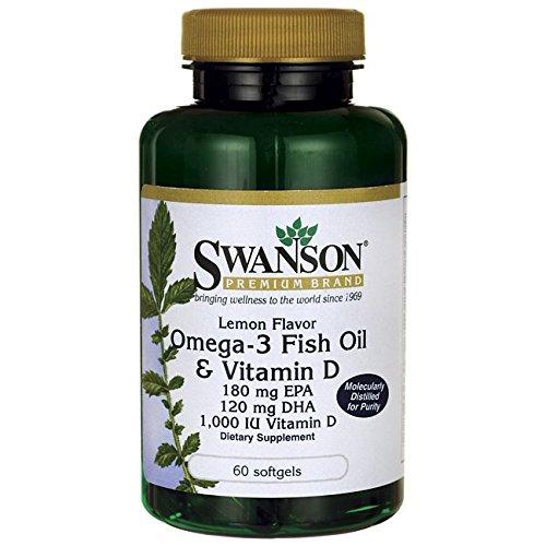 Swanson Lemon Flavor Omega 3 Vitamin