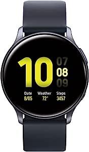 Samsung Galaxy Watch Active 2 (40mm, GPS, Bluetooth), Aqua Black (US Version)