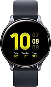 Samsung Galaxy Watch Active 2 (40mm, GPS, Bluetooth), Aqua Black (US Version)