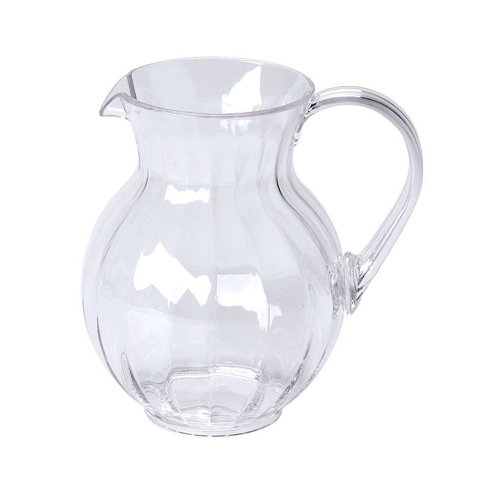 90 oz. Clear Tahiti Plastic Pitcher, G.E.T. P-4090-PC-CL-EC