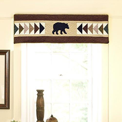 Donna Sharp - Valance/Runner, Woodcut Bear ()