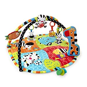 Bright Starts Spots And Stripes Safari Play Mat Amp Gym