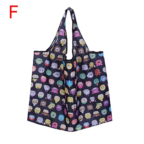 f74da4c4068 7 · Goodlock Foldable Reusable Carry Bags Shopping Travel Shoulder Bags  Folding Eco Grocery Handbags Tote Pouch Bag