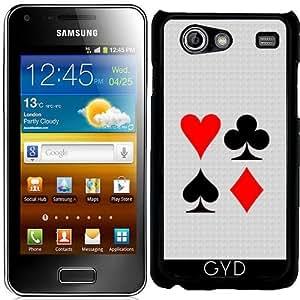 Funda para Samsung Galaxy S Advance (i9070) - Jugar Juegos De La Tarjeta by hera56