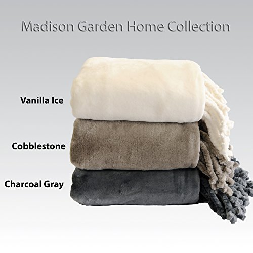 Cozy Land Luxurious Super Soft and Plush Throws, Hand-