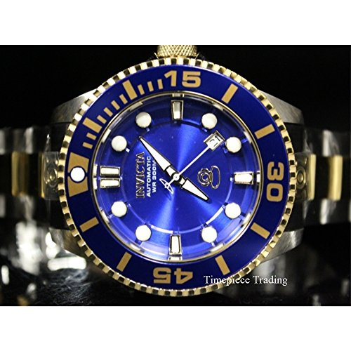 Invicta Men's 'Pro Diver' Automatic Stainless Steel Diving Watch, Color:Two Tone (Model: 19804) by Invicta