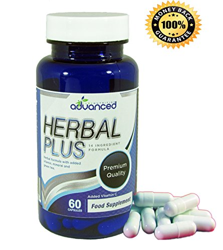 Advanced Herbal Plus, Detox Colon Cleanse and Weight Loss Supplement, Active Ingredients including Cranberry, Aloe Vera, Fennel, Green Tea, Sea Buckthorn and Liquorice Root, Vitamin C, UK Made