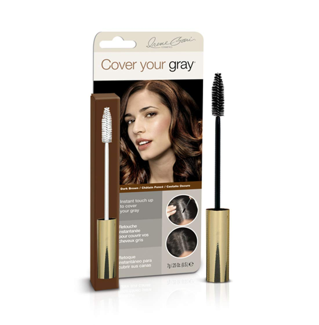 Cover Your Gray Brush-In Wand - Dark Brown (Pack of 6) by Cover Your Gray