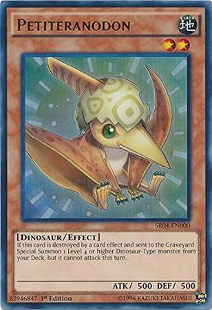 Petiteranodon Ultra Rare 1st Edition Yugioh Card SR04-EN000