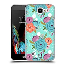 Head Case Designs Blue Floral Whimsical Flowers Hard Back Case Cover for LG G4 Beat / G4s / G4 s / H735