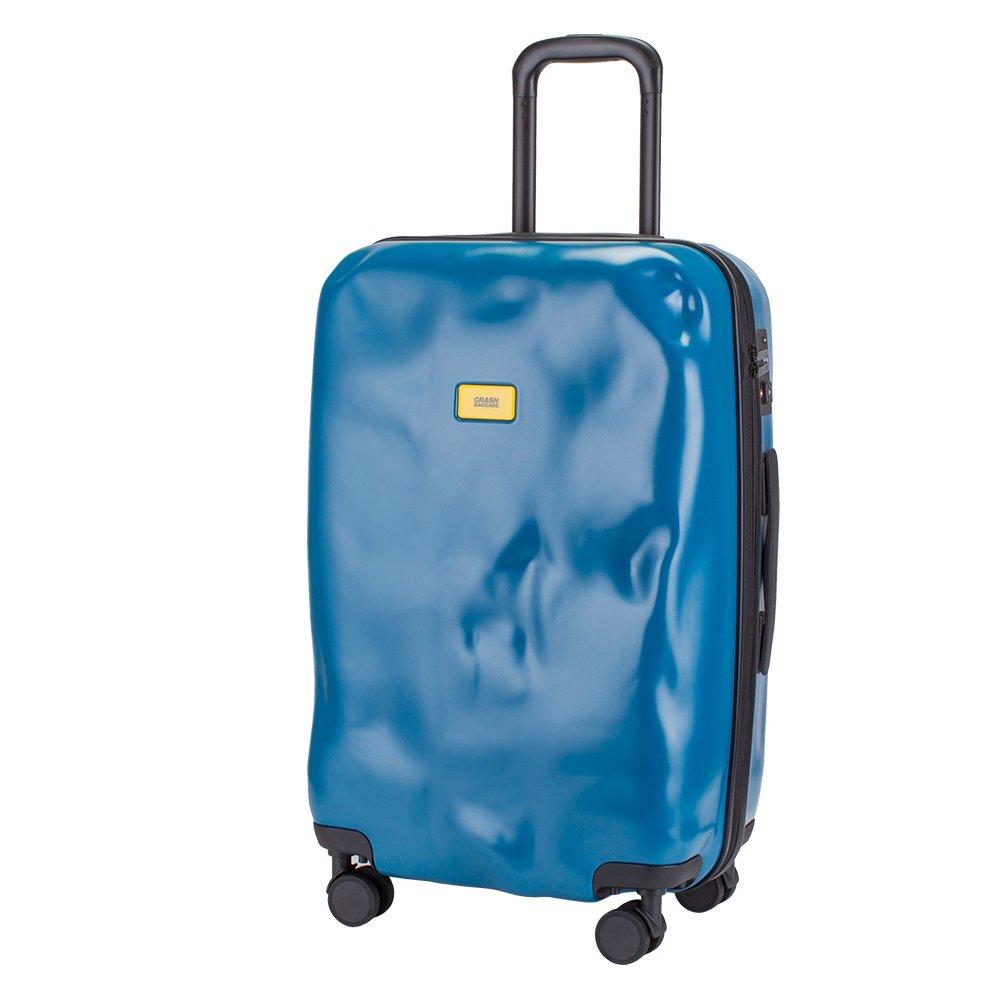 クラッシュバゲージ Crash Baggage スーツケース 65L パイオニア Mサイズ 中型 CB102 Pioneer キャリー[ バッグ ] キャリーケース クラッシュバゲッジ B077D93CTD ブルー(14) ブルー(14)
