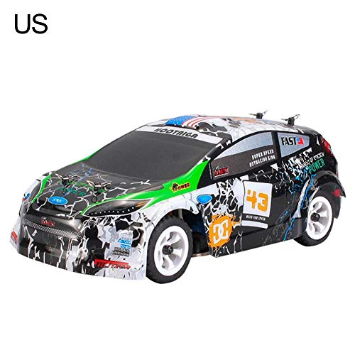 total-shop rc SUV rc Cars High - Speed Car 1:28 Electric Four - Wheel Drive Off - Road Vehicle 2.4G Alloy Chassis Remote Control Car Toy for WLtoys ()
