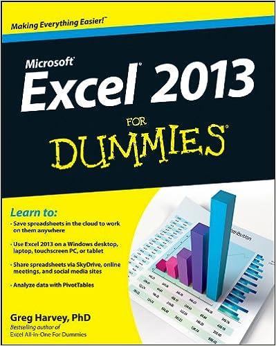 Excel 2013 for dummies 1 greg harvey ebook amazon fandeluxe Choice Image