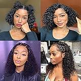 Ainmeys short bob wigs 4x4 lace closure wigs