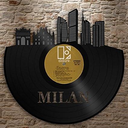 Amazon.com: vinylshopus Milan – Vinilo de pared Arte ...