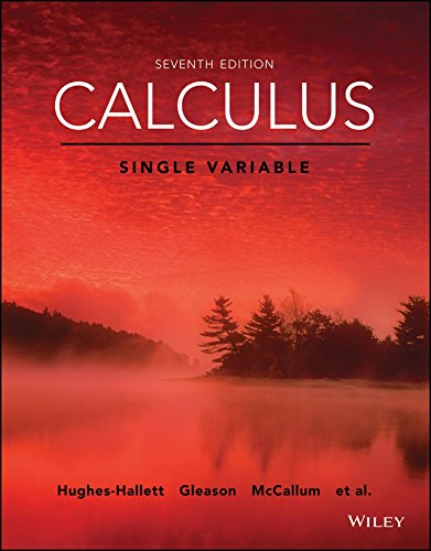 Calculus: Single Variable, 7th Edition