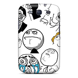 Hot Snap-on Meme Compilation Hard Cover Case/ Protective Case For Galaxy S3