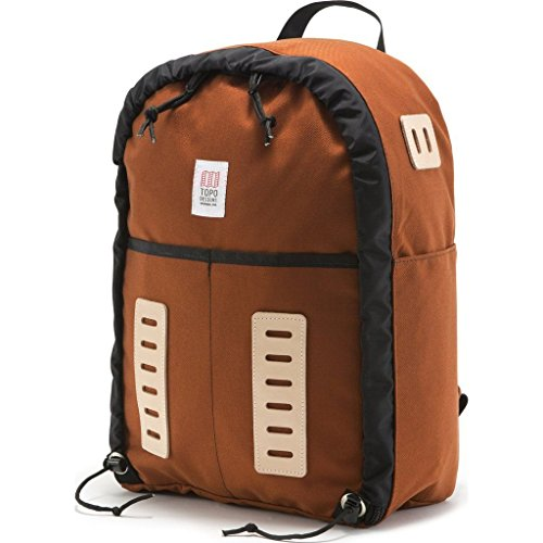 Topo Designs Span Backpack Daypack Cordura Nylon Clay USA by Topo Designs