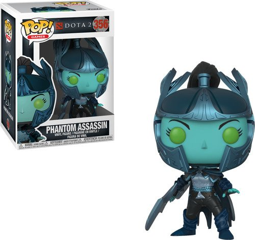 Funko Pop Games: Dota 2-Phantom Assassin with Sword Collectible Figure, Multicolor