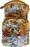 Dish Towel Set 9 Piece Print (Chef)