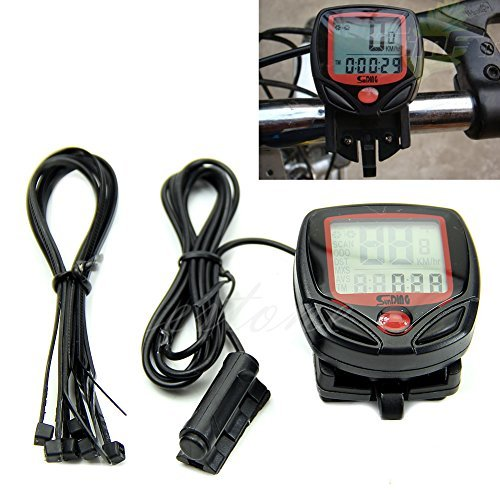 Kope Waterproof Digital LCD Computer Cycle/ Bicycle/ Bike Speedometer Odometer