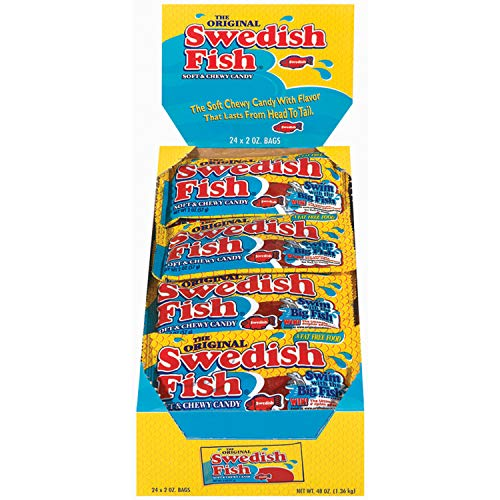 - SWEDISH FISH Easter Soft & Chewy Candy - 24 Pack