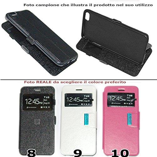 Etui en eco cuir TPU portefeuille livre avec fonction stand pour iPhone 6Plus