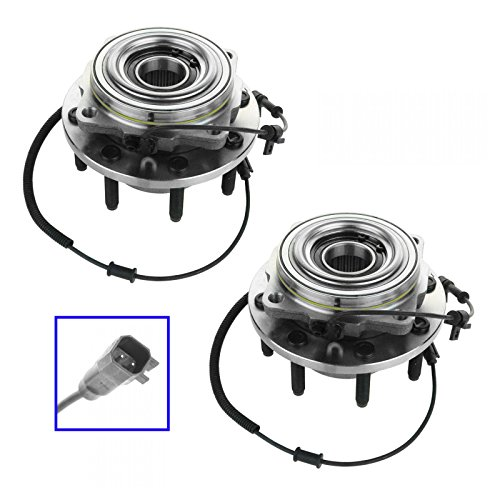 Wheel Bearing Hub Assembly Front Pair for 11-15 F250 F350 Super Duty 4WD SRW