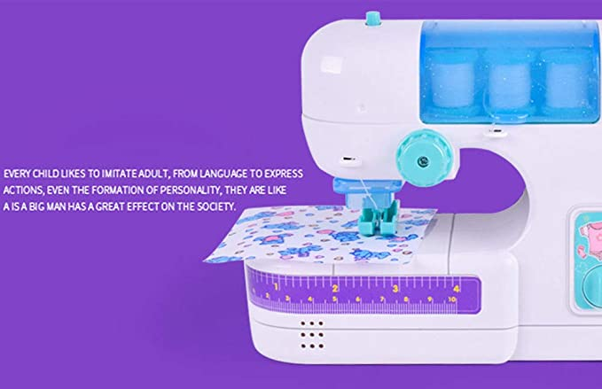 Amazon.com: Oldeagle Electric Sewing Studio Machine Intelligence Sewing Machine Activities Toy for Kids Girls Gift: Toys & Games