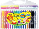 Amos Pasnet Twistable Soft Crayon Colored Pencils(24 Colors)