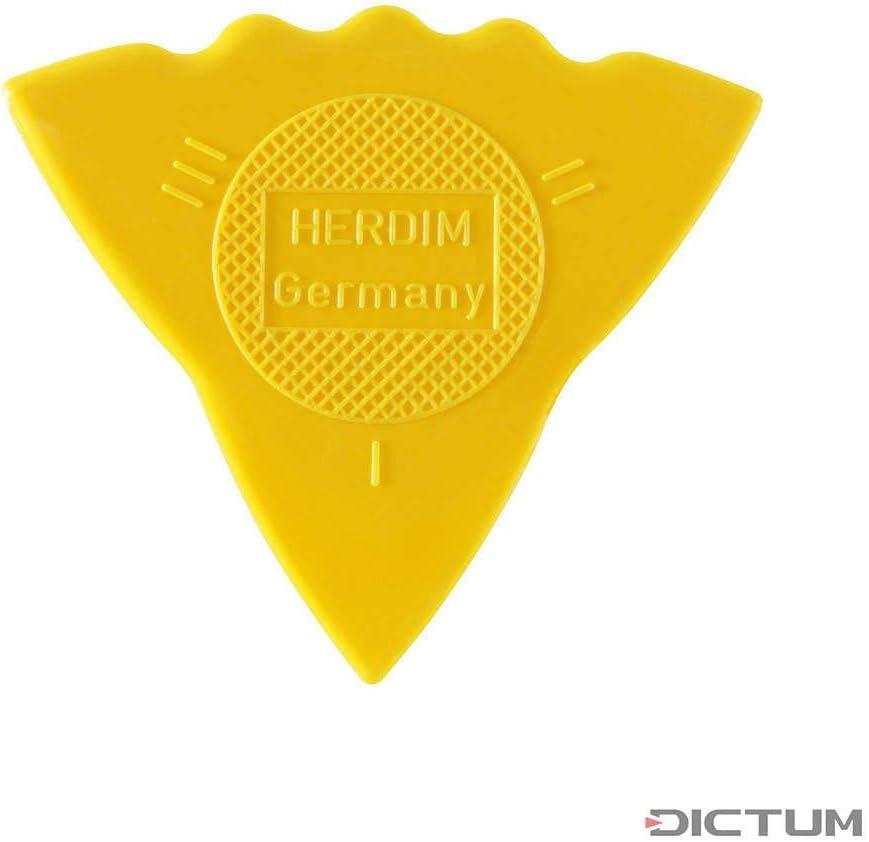 III I = soft gauge thin II 12 pieces yellow hard medium Herdim Plectrum//Pick 3-gauges