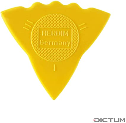 III I = soft gauge thin II 12 pieces yellow hard medium Herdim Plectrum//Pick 3-gauges