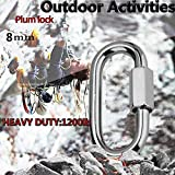 Quick Link, Lsquirrel 304 Stainless Steel D Shape