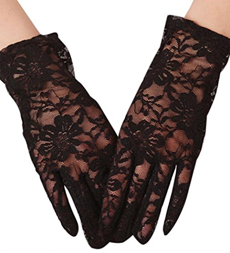 Flapper Girl Makeup Ideas (IF FEEL Halloween Masquerade Party Cosplay Costume Accessories Treat or Trick (One size, 10-1))