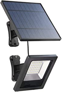 JLFTF Home Multifunction LED Solar Light with Panel 3 Meter Cable Garden Flood Light Waterproof Wall Solar Light Outdoor Lawn Lighting