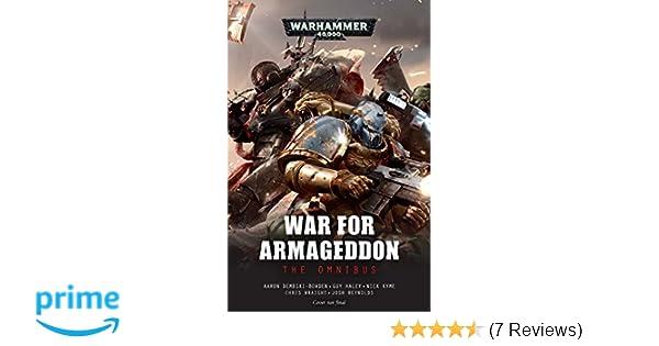 Amazon com: War for Armageddon: The Omnibus (Warhammer